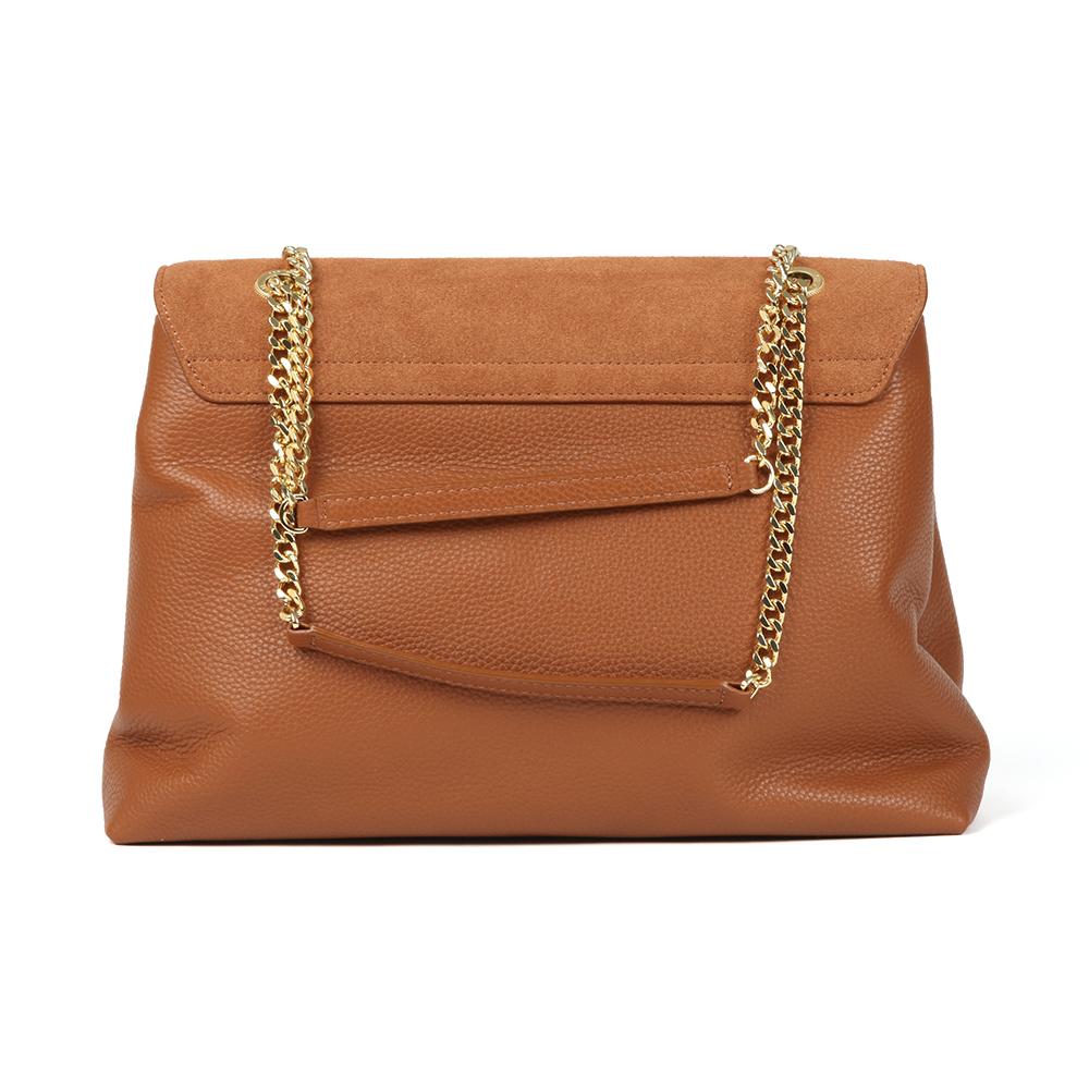 Hermiaa Suede Padlock Shoulder Bag main image