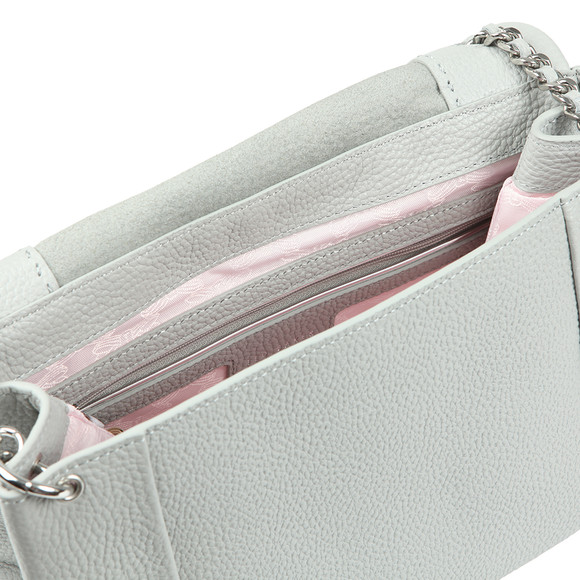 Ted Baker Womens Grey Genifer Soft Grain Shoulder Bag main image