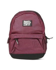 Superdry Womens Pink Glitter Montana Backpack