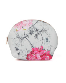 Ted Baker Womens Grey Arwen Babylon Dome Washbag