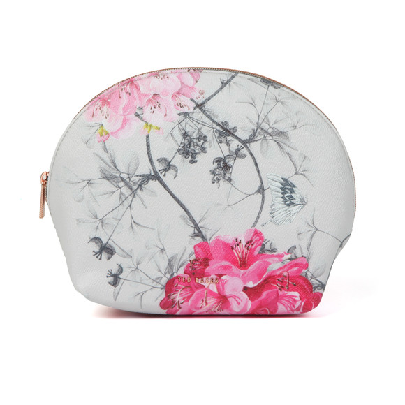 Ted Baker Womens Grey Arwen Babylon Dome Washbag main image