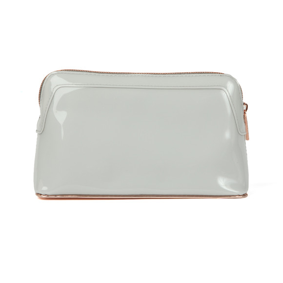 Ted Baker Womens Grey Aubrie Bow Makeup Bag main image