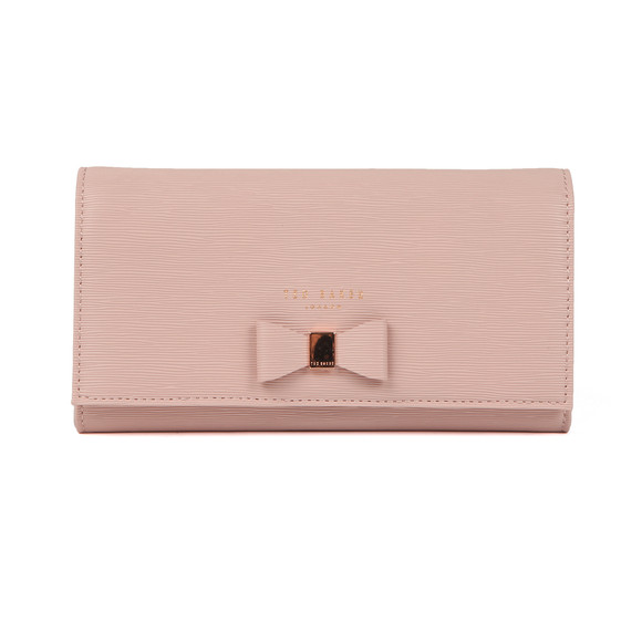 Ted Baker Womens Pink Abriana Bow Detail XBody Matinee Purse main image