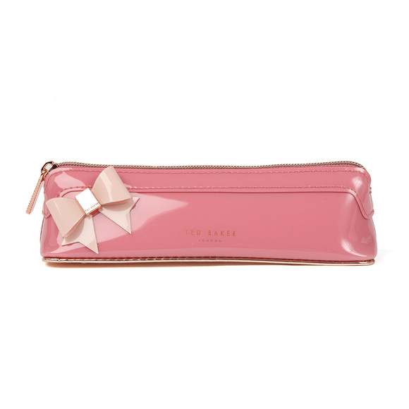 Ted Baker Womens Red Tonda Core Bow Pencil Case main image