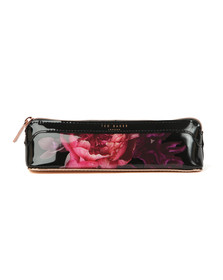 Ted Baker Womens Black Marina Splendour Pencil Case