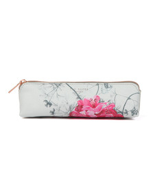 Ted Baker Womens Grey Gianna Babylon Pencil Case