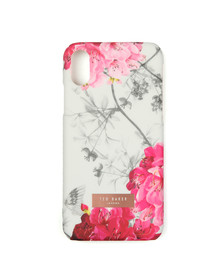 Ted Baker Womens Grey Guava Babylon Iphone X Clip Case