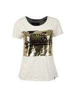 Premium Sequin Slim BF T Shirt