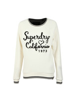 American Girl Reversed Crew Sweat
