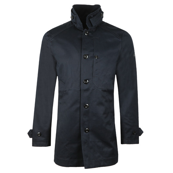 G-Star Mens Blue Garber Trench  main image