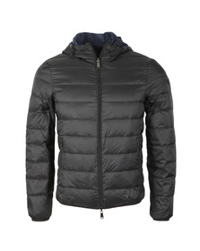 Emporio Armani Mens Black 8N1B51 Reversible Puffer