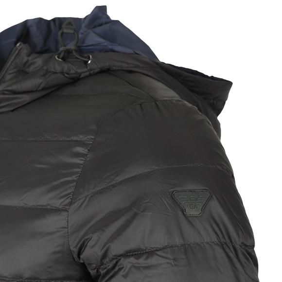 Emporio Armani Mens Black 8N1B51 Reversible Puffer main image