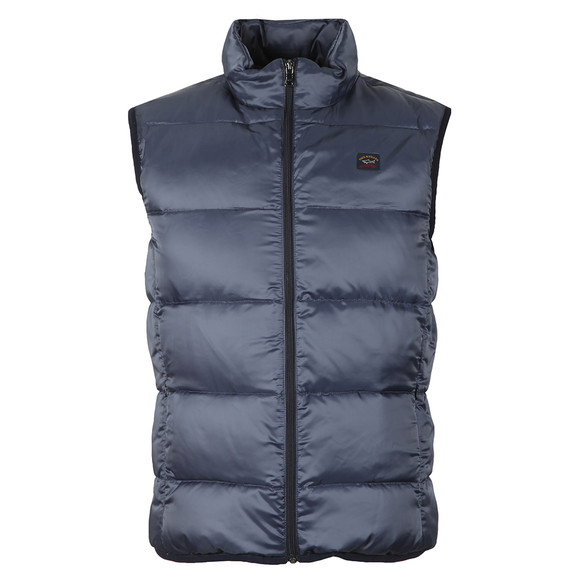 Paul & Shark Mens Blue Down Gilet main image