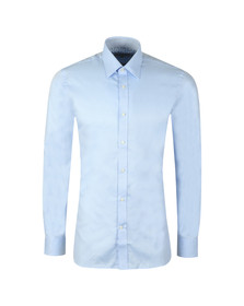 Ted Baker Mens Blue Happs Diamond Dobby Endurance Shirt