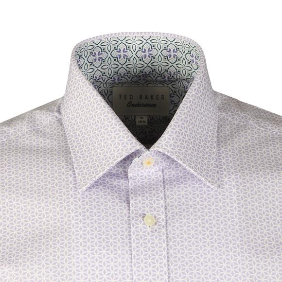 Ted Baker Mens Purple Havla Tile Endurance Shirt main image