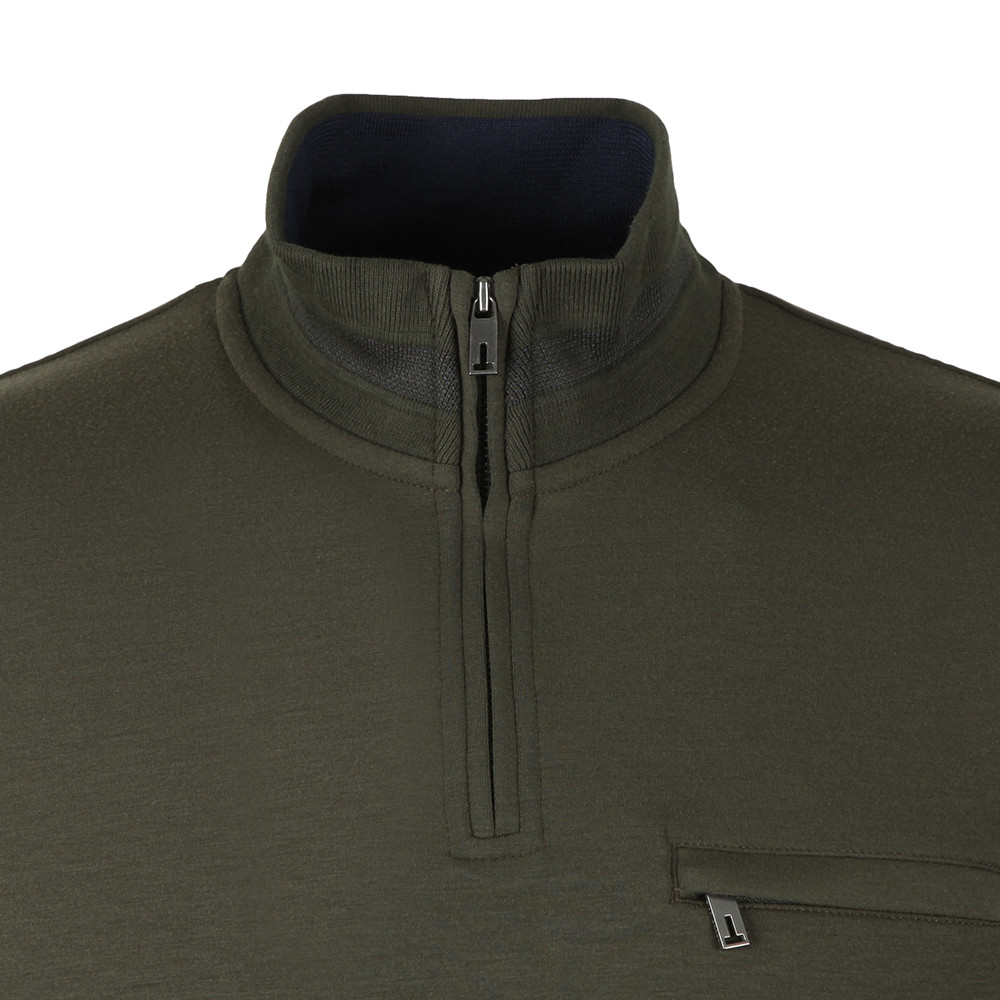 Leevit Half Zip Funnel Neck Sweat main image