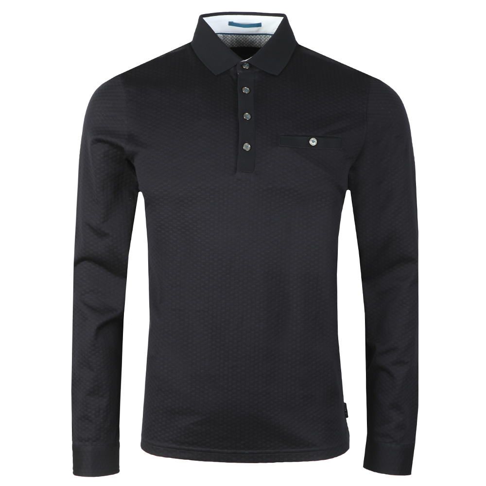 Fruitpa LS Textured Polo Shirt main image