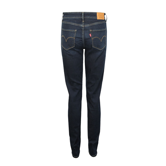 Levi's Womens Blue 721 High Rise Skinny Jean main image