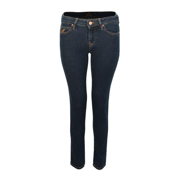Vivienne Westwood Anglomania Womens Blue Slim Jean