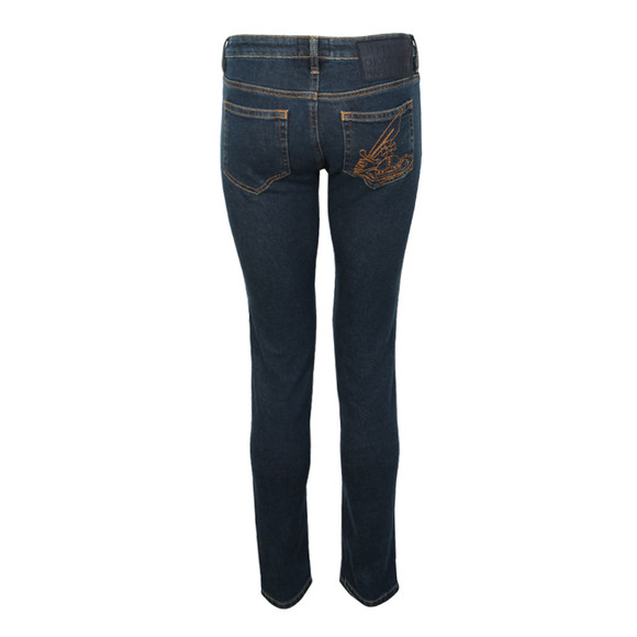 Vivienne Westwood Anglomania Womens Blue Slim Jean main image