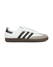 Adidas Originals Mens White Samba Leather Trainer