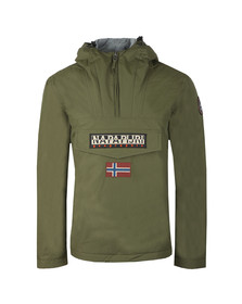 Napapijri Mens Green Rainforest Winter Jacket