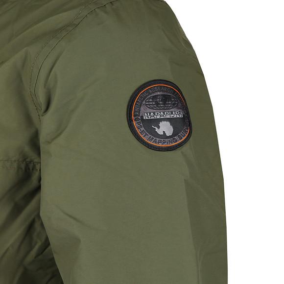 Napapijri Mens Green Rainforest Winter Jacket main image