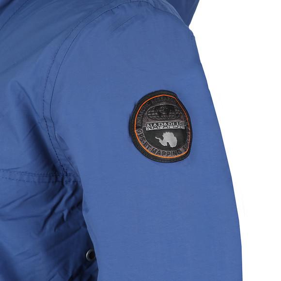 Napapijri Mens Blue Rainforest Winter Jacket main image