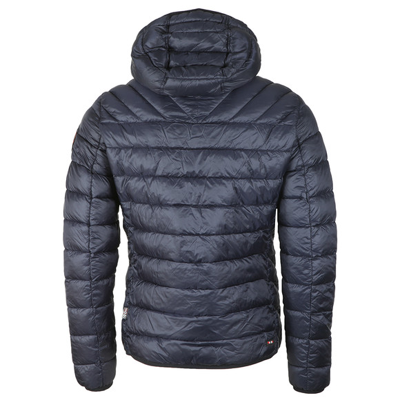 Napapijri Mens Blue Aerons Hooded Jacket main image