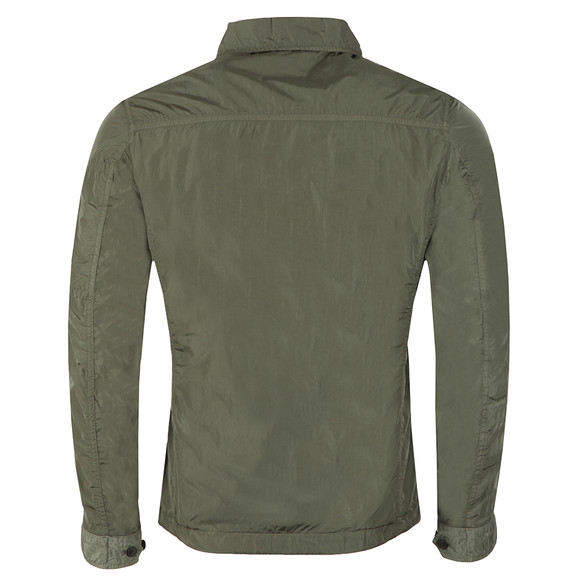 C.P. Company Mens Green Nylon Overshirt main image