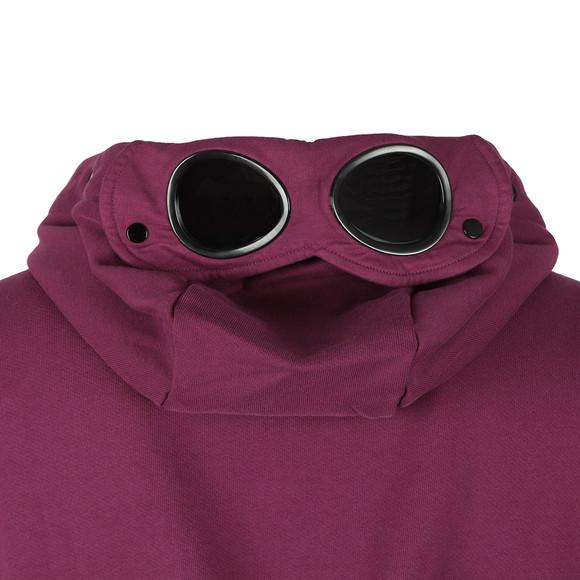 C.P. Company Mens Purple Full Zip Goggle Hoody main image