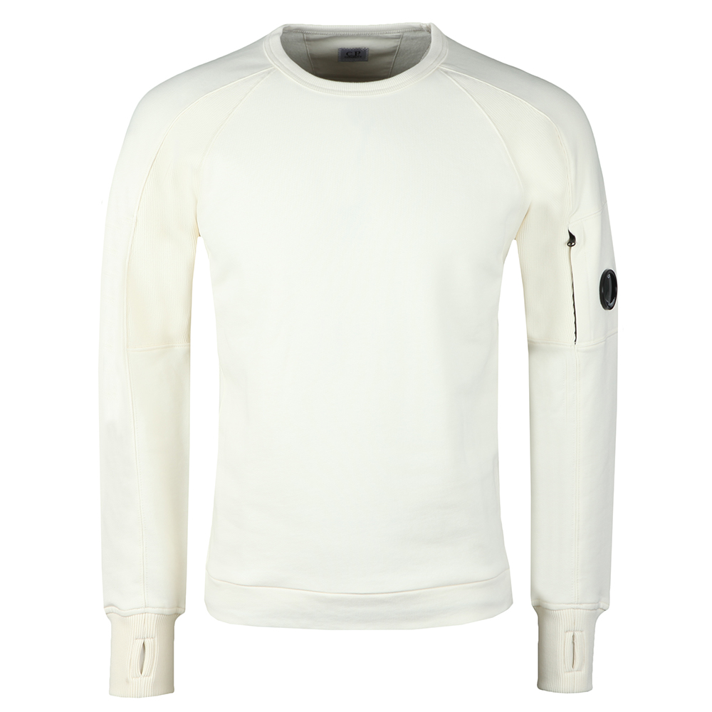 Diagonal Fleece Crew Neck Sweatshirt main image