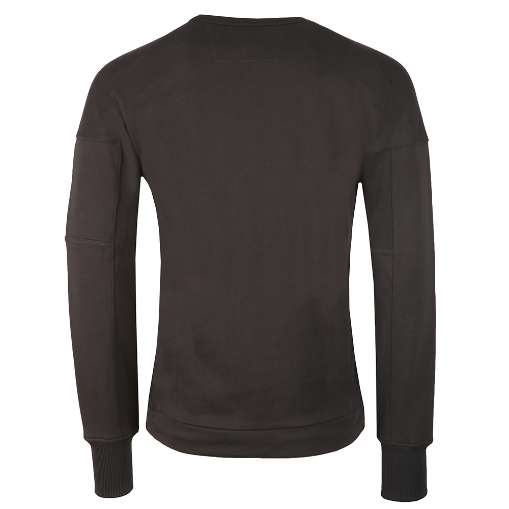 Diagonal Fleece Crew Neck Sweatshirt main image