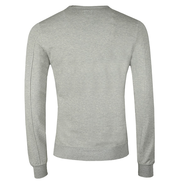 C.P. Company Mens Grey Viewfinder Sleeve Crew Sweat main image