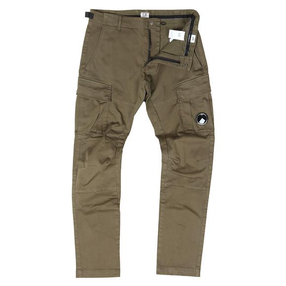 C.P. Company Mens Green Raso Stretch Cargo Pants  main image