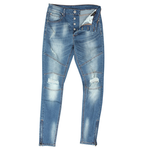 Kings Will Dream Mens Blue Barno Denim Jean main image