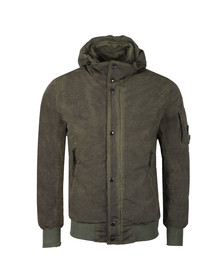 C.P. Company Mens Green Nycra Re-colour Jacket