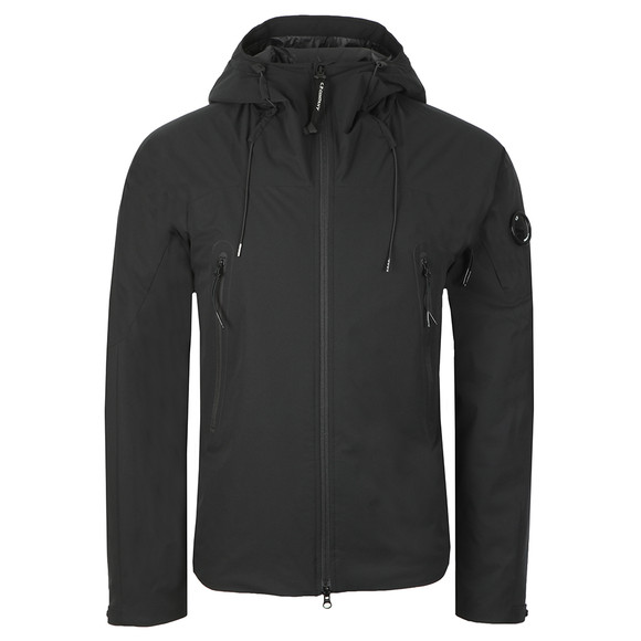 C.P. Company Mens Black Padded Hooded  Pro-tek Jacket main image
