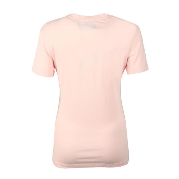 Calvin Klein Jeans Womens Pink Monogram Logo Regular T Shirt main image