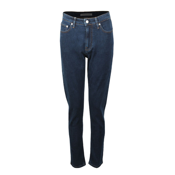 Calvin Klein Jeans Womens Blue High Rise Slim Jean
