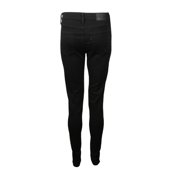 Levi's Womens Black 720 High Rise Super Skinny Jean main image