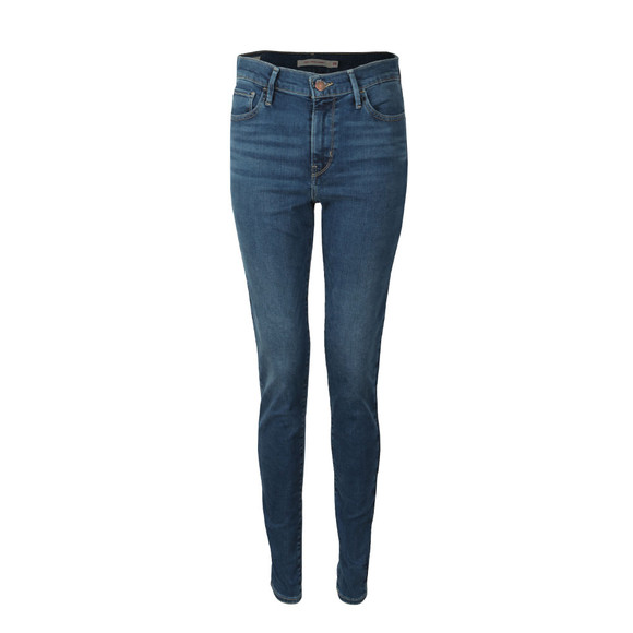 Levi's Womens Blue 720 High Rise Super Skinny Jean main image
