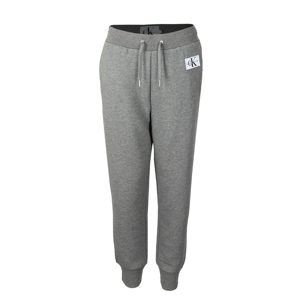 deff143ae16c0 Calvin Klein Jeans Womens Grey Monogram Badge Joggers