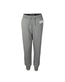 Calvin Klein Jeans Womens Grey Monogram Badge Joggers