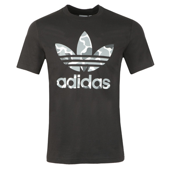 adidas Originals Mens Black Trefoil T-Shirt main image