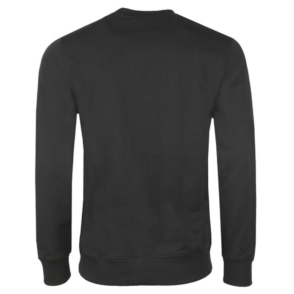 Calvin Klein Jeans Mens Black Monogram Logo Sweat main image