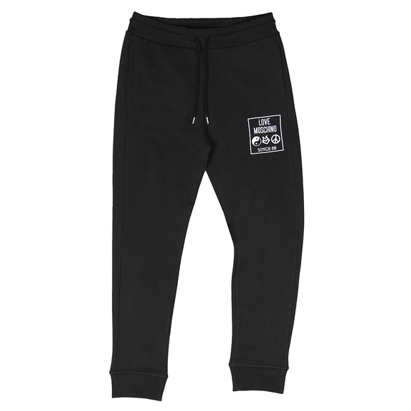 Love Moschino Mens Black Logo Core Jogger main image