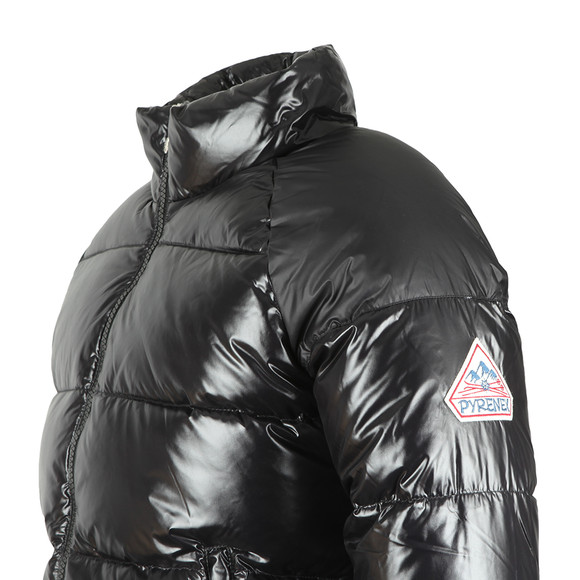 Pyrenex Mens Black Vintage Mythic Shiny Jacket main image