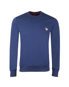 PS Paul Smith Mens Blue Zebra Sweatshirt