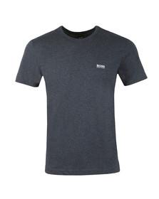 BOSS Green Mens Blue Tee Plain T Shirt